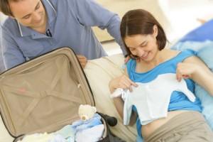 Départ pour la maternité - Préparation Valise