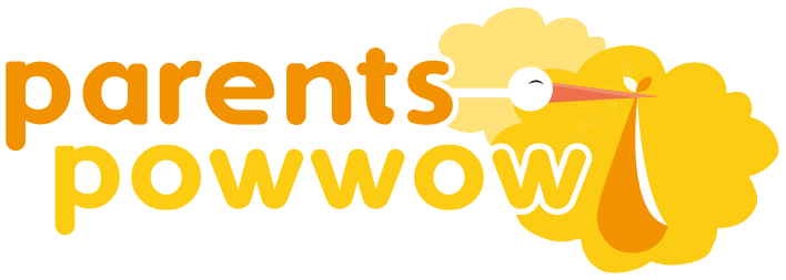 Parents-Powwow-Logo-White-Outline